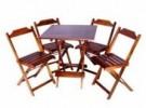Aluguel de Mesas e cadeiras de Madeira- RJ | Para Festas e Casamentos